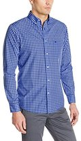 Geoffrey Beene Dockers Men's Long Sleeve No Wrinkle Signature Plaid Men's Shirt