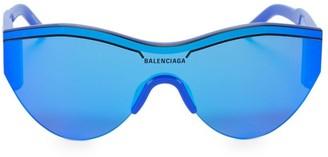 Balenciaga 99MM Tonal Round Sunglasses