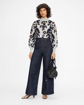 Thumbnail for your product : Ted Baker Oversized Animal Jumper