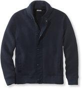 L.L. Bean Double L Cotton Sweater, Windproof Full-Zip