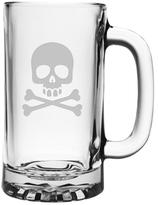 Skull and Crossbones Pub Beer Mugs (Set of 4)