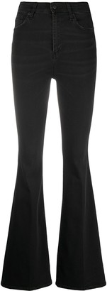 DEPARTMENT 5 Flared Leg Trousers