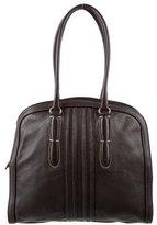 Agnona Grained Leather Tote