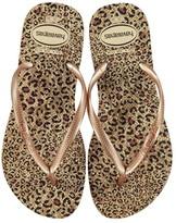 Havaianas Flash Urban Ballet Pink Rose Gold Ankle Strap Sandal Flip Flops UK 8//9