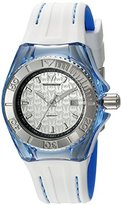 Technomarine Women's 'Cruise' Swiss Quartz Stainless Steel and Silicone Automatic Watch, Color:Two Tone (Model: TM-115158)