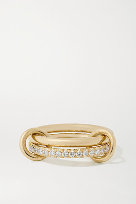 Spinelli Kilcollin Ceres Deux Set Of Two 18-karat Gold And Diamond Rings - 6