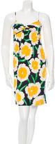 Diane von Furstenberg Sleeveless Floral Print Dress