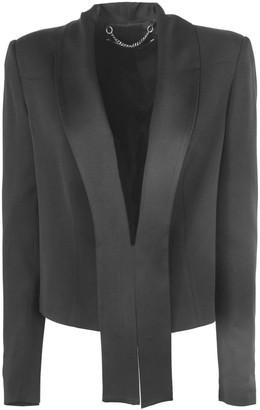 FEDERICA TOSI Black Structured Blazer