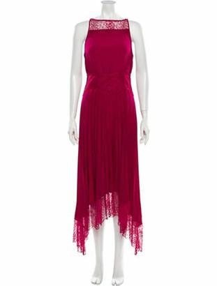 A.L.C. Bateau Neckline Long Dress w/ Tags Pink Bateau Neckline Long Dress w/ Tags