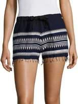 Lemlem Tabtab Fringed Shorts