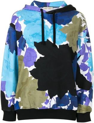 Stine Goya Adrisa floral print hoodie