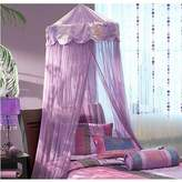 Bacati Jaipuri Purple and Pink Bed Canopy 96-Inch Drop