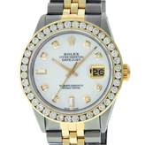 Rolex Datejust 36mm White gold and steel Watches