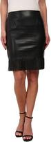 Karen Kane Fringe Pencil Skirt