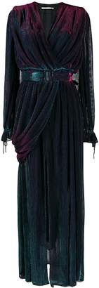 Marco De Vincenzo belted evening gown