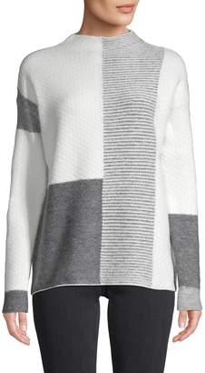 Love Token Kassie Texture Patchwork Sweater