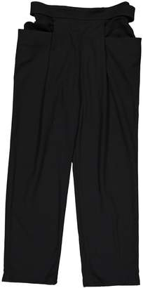 J.W.Anderson J W Anderson Black Polyester Trousers