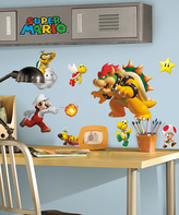 Nintendo Super Mario Peel & Stick Decal Set