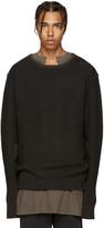 Yeezy Grey Wool Undestroyed Sweater