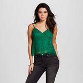 Xhilaration Women's Lace Cami Green Juniors')