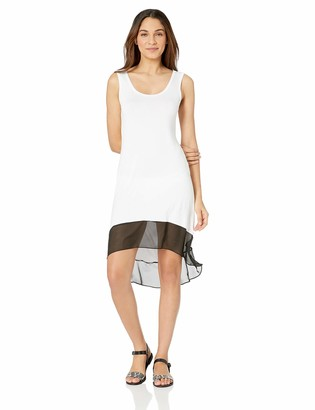 Calvin Klein Women's High/Low Color Block Cover up Dress