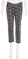 McQ by Alexander McQueen Lace Straight-Leg Jeans