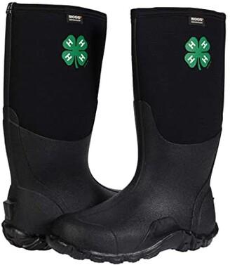 Bogs Classic Tall 4-H (Black) Men's Boots