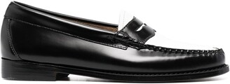 G.H. Bass & Co. Colour-Block Penny Loafers