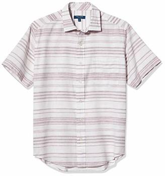 Cole Haan Mens Long Sleeve Knit Pique Buttondown Shirt Shirt
