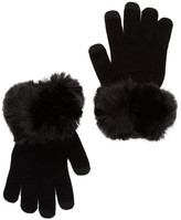 Dena Faux Fur Touch Tech Gloves