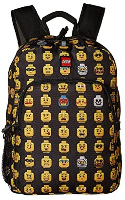 Lego Minifigure Heritage Classic Backpack (Black) Backpack Bags