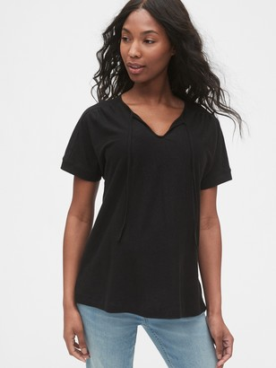 Gap Maternity Tie-Front T-Shirt