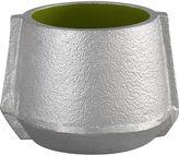 CB2 Molten Green Candleholder