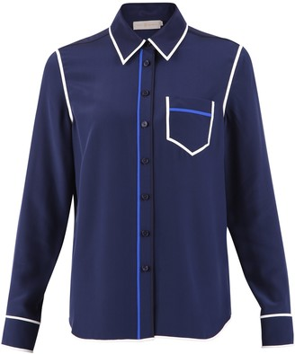 Tory Burch Pocket Detail Shirt