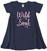 Urban Smalls Navy 'Wild Soul' Swing Dress - Toddler & Girls