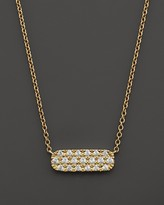 Bloomingdale's Small Diamond Bar Pendant in 14K Yellow Gold, .12 ct. t.w.