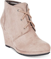 Style&Co. Style & Co. Alaisi Lace-Up Wedge Booties, Only at Macy's