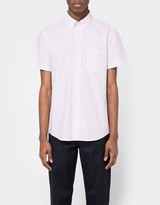 Acne Studios Isherwood Light Cotton Short Sleeve Shirt