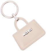 Longchamp Leather Tote Bag Keychain