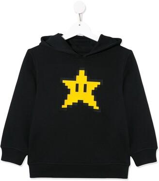 Mostly Heard Rarely Seen 8 Bit star hoodie