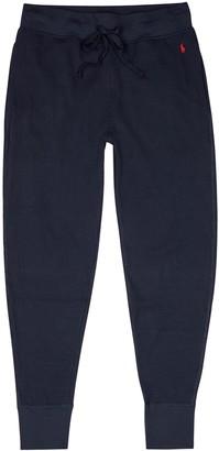 Polo Ralph Lauren Navy cotton-blend sweatpants