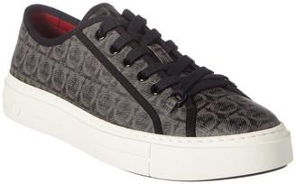 Salvatore Ferragamo Anson Leather Sneaker