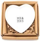 Mud Pie Mr Mrs Plate