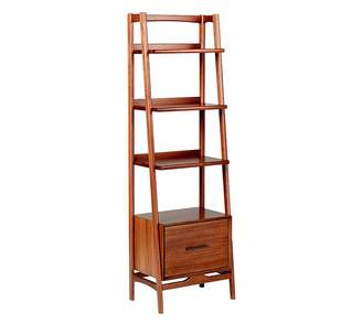 Pottery Barn Kids Mid-Century Wide Tower Bookcase