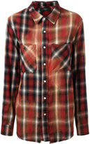 Amiri plaid pocket shirt