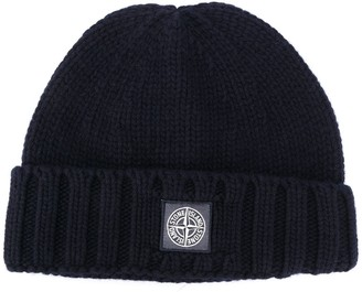 Stone Island Compass-Patch Beanie