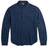 Ralph Lauren RRL Indigo Cotton Mesh Polo Shirt