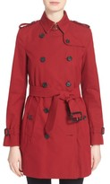 Burberry Women's Kensington Mid Trench Coat