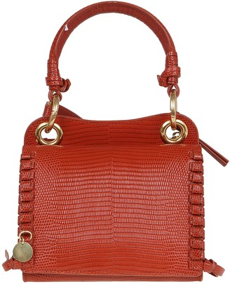 See by Chloe Patchwork Of Cowhide Leather Embossed Wi