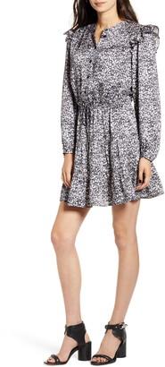 Rebecca Minkoff Hannah Floral Minidress